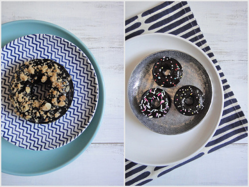 veganbreakfast:  Vegan & gluten-free doughnuts by Ashlae | Ladycakes on Flickr.