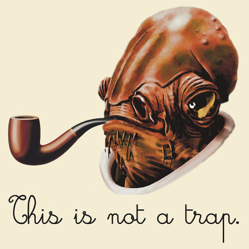 tiefighters:  This Is Not A Trap  - by trekvix Shirt available at redbubble.  flickr / tumblr