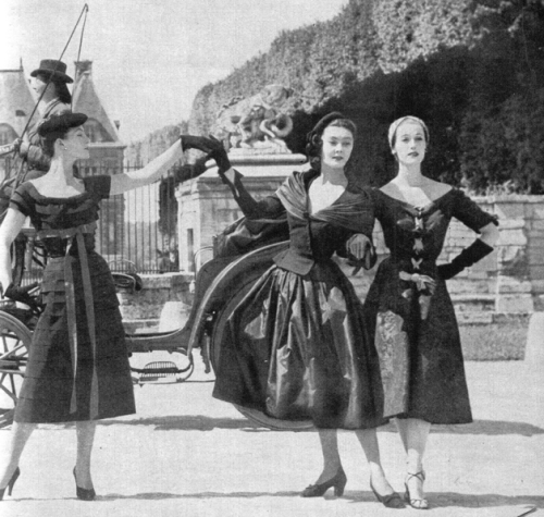 French fashion, 1951