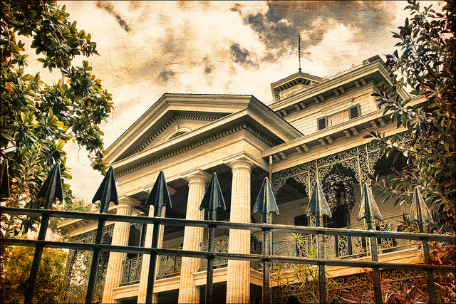 Fun Friday - Haunted Mansion by Alan Rappa