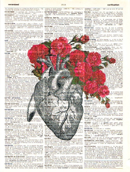 Vintage Heart with Roses by RococcoCo