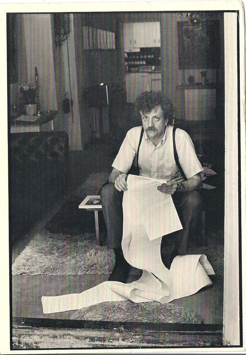Kurt Vonnegut reads.