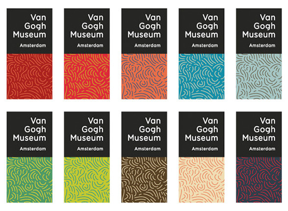 New identity for Van Gogh's museum | Amsterdam Love it :)