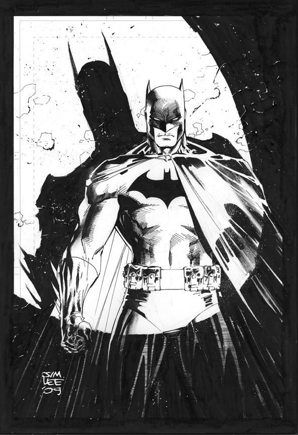 Jim Lee.  playstationgirl:  Spotlight on Batman // jimlee00
