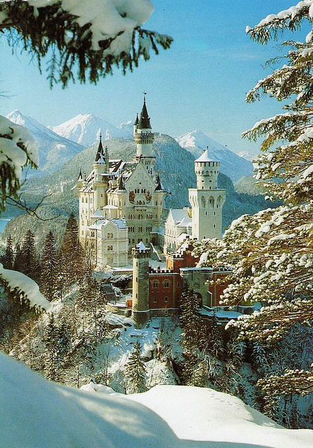 | ♕ |  Neuschwanstein  | by jasmine8559 | via fuckyeahgermany