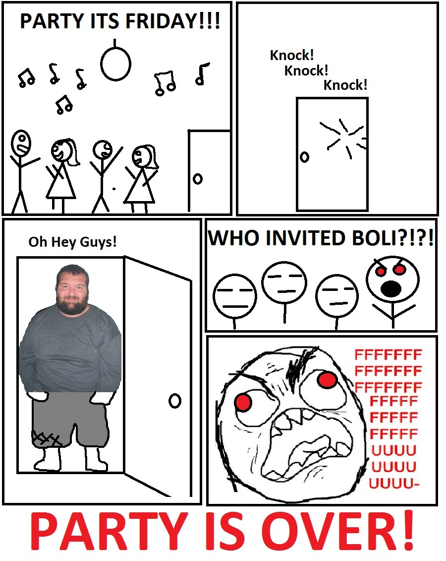 Our First Boli Rage Comic :)