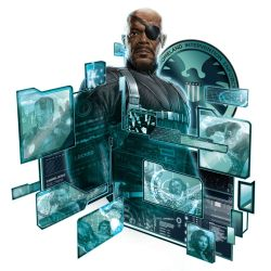 New Nick Fury Promo Art for The Avengers