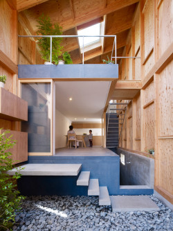 lessadjectivesmoreverbs:  House in Seya - Suppose Design Office YUMMY