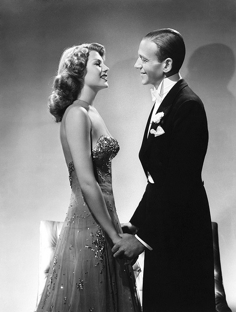 "beautyisalightintheheart:  Fred Astaire and Rita Hayworth in ""You were never lovelier"" 1942"