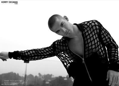"kerrydegmanfan:  Kerry Degman in ""L'été Noir"" by Alek and Steph for Bello Mag #28"