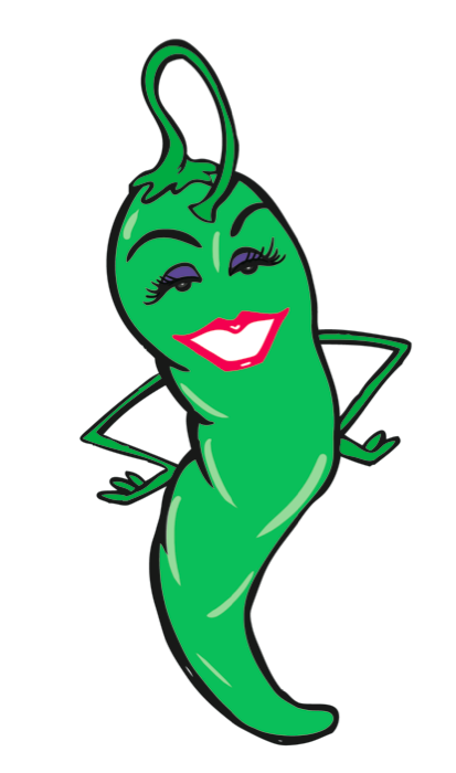 Holly the Jalapeno is the spokeswomen for Texas Tamale Company.