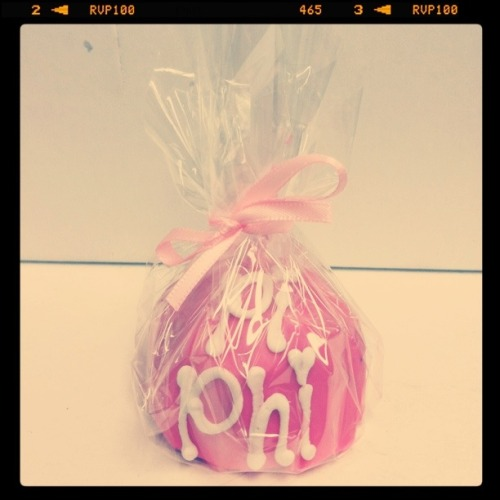 our delicious cake pops from rush week!