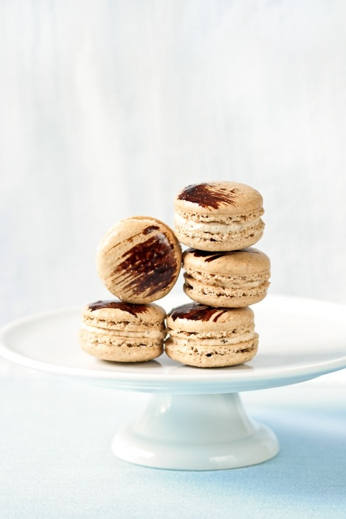 Coffee and Chicory Macarons