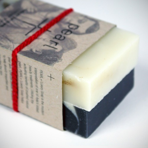 A brand new batch of Pearl+ Moisturizing Soaps is up on our online shop. Lovingly hand-crafted in small batches in Portland by our friends at Studio J, exclusively for Ace, the soaps contain crushed natural pearl, saponified oils of olive, coconut and palm, rice bran, shea butter, pearl powder, gotu kola and rosemary extract. These are the soaps we hang from the vanities at Ace Portland and New York, and it's never there when you leave, so it seems these are pretty popular. Now you can actually have it delivered. Also in the shop: Pearl+ Detoxifying soap. You can get each separately as a large bar or together in a pack of two. Pearl+ is a creation of Janet Jay at Studio J in Portland, Oregon — she runs the studio with her husband, and our long-time friend, John Jay. In China, the powers of natural pearl have been celebrated in mythology and practice for over two millennia. Janet learned about this special use of pearl powder from her grandmother, so her soaps are a modern interpretation of an ancient classic.
