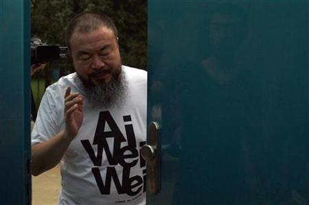 Ai Weiwei finds China's capital is a prison where people go mad. (Photo credit: Reuters/David Gray)