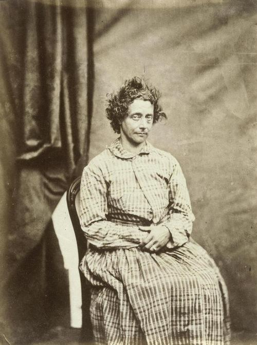 mudwerks:  (via adski_kafeteri: 4X4) [Portrait of a Mad Woman Between 1852 and 1854. Photo: Hugh Welch Diamond]