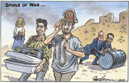 "I hope this doesn't happen … NATO helped the freedom fighters in Libya not because of their humanitarian compassion for innocent Libyans, but for their own agenda. Libyans should say, ""Thank You NATO, now get the f**k out of our country"" Remember who Gaddafi's ""friends"" were before the revolution…. yes, it was all NATO member countries. This is why NATO couldn't give a crap about innocent Syrian protesters being massacred daily."