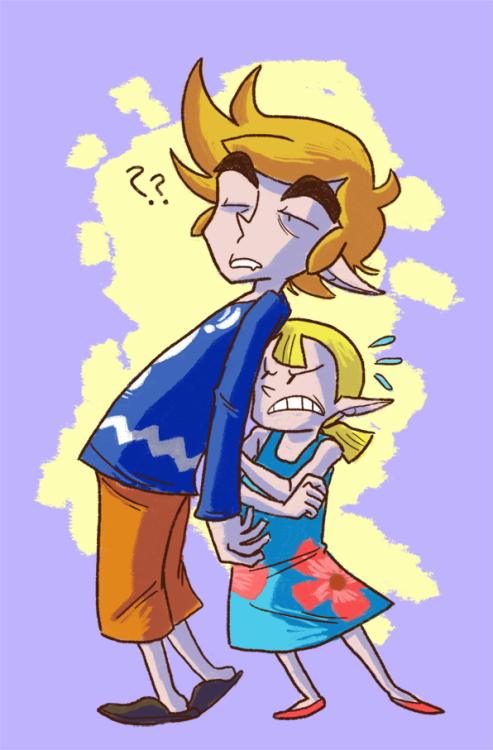 wonderfulspazz:  illasart:  There are a lot of reasons why Wind Waker is my favorite, and one of them is cuz Link has a family and that's awesome. I could go on for a while, but for a series where you're technically supposed to project yourself onto the character, Link's family is never really a factor. It's so much more relatable to go on a journey to save your sister than it is to just be told you have this huge destiny to save the world or whatever. Also, I love WW Link's island clothes. People should draw him in it more.  Dude, can I just, like, marry your WW Link? (and the rest of your art)has no shame  That was pretty much the same reason I loved Wind Waker too, (maybe this is the big brother in me) there was just something about having your little sister kidnapped that turned the whole thing into a personal oh hell no moment for me.