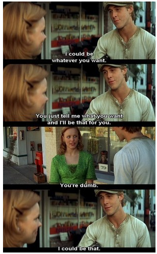 the notebook. LOVE <3 <3