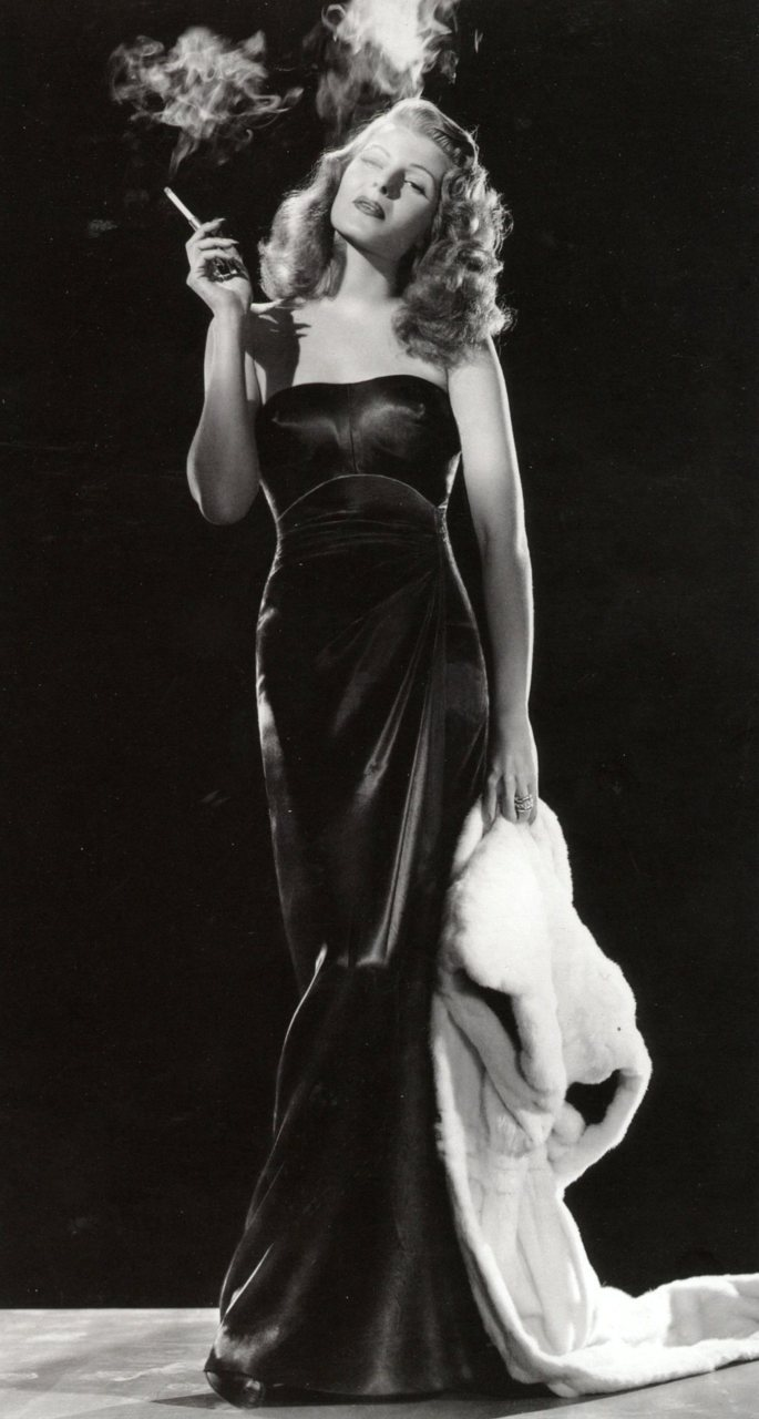 imagine if you walked into a meeting like this? (Rita Hayworth, 1946).