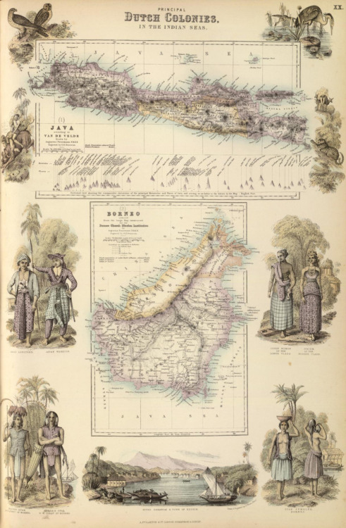 A. Fullarton & Co., 1872, Principal Dutch Colonies in the Indian Seas