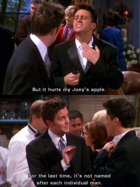 Well, whatever makes you happy joey