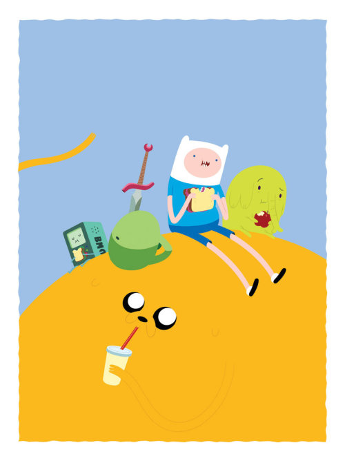 coloroftheconqueringking:  Picnic Time with Finn and Jake // ~lanbridge