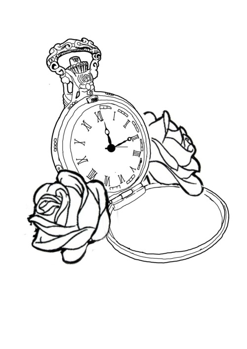 Line Drawing Tattoos Tumblr : Watch tattoo on tumblr