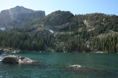 Lake Haiyaha- Rocky Mountains Aug 18