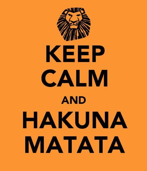 "There was this girl that had ""Hakuna Matata"" as a tattoo on the back of her neck in my math class last year. Couldn't stop looking at it."