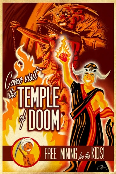 geeksngamers:  The Temple of Doom - by Blain Hefner