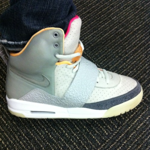 In honor of @kanyewest rocking the Air Yeezy 2 at the #VMA, Zen Grey Air Yeezy 1 to work today (Taken with Instagram at Initiative Media)
