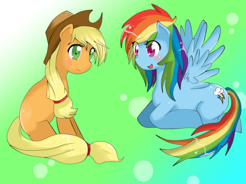 cutiemarkcrusaders:  (via Com: Apple Dash by ~AppleStems on deviantART)