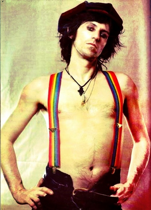 KEITH RICHARDS mick-the-stick-jagger:  I like the colors in this version idk why tho