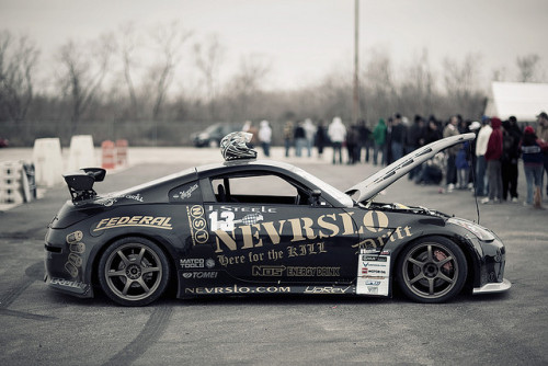 240posse:  NST Anniversary Drift & Show:  NEVRSLO 350Z by J. Evins on Flickr.