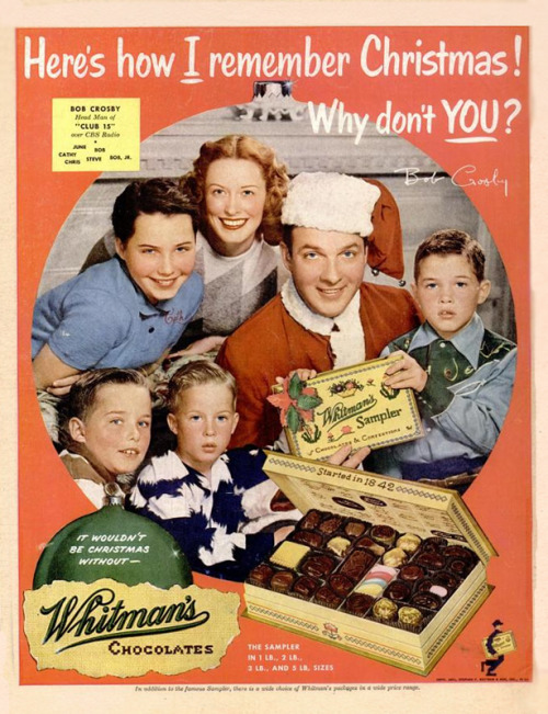 Bob Crosby for Whitman's Chocolate, 1951