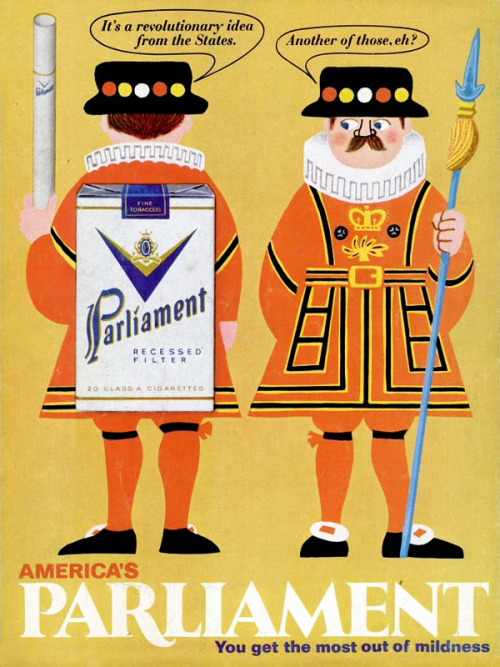 Parliament Cigarettes, 1968