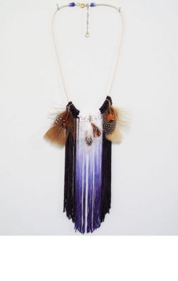 valleymall:  Laurel Wells Apalachicola Fringe Necklace