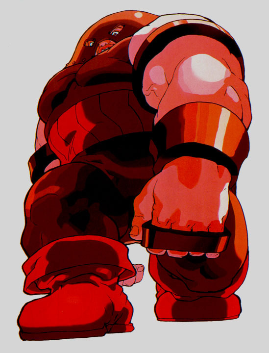 Juggernaut Xmen Vs Street Fighter