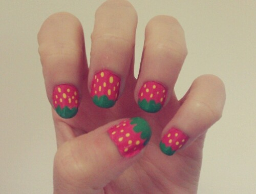[Remake] Strawberry nails