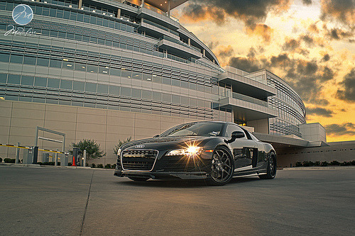Ironic Man Starring: Audi R8 (by Pepper Perfect)