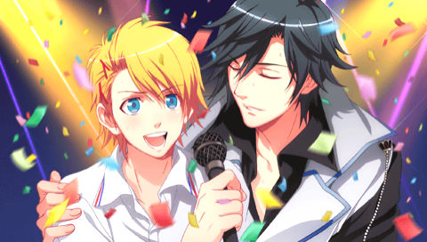 "cometcloud:  Uta no Prince-sama ♪ / うたの☆プリンスさまっ♪ Sweet Serenade Syo Kurusu CG ~ Still cannot get over Syo XD. That CG when he and you (Haruka) are on the bed, he goes ""Ah… it's… nothing… I was just thinking… that I want to kiss you… but I'll hold it in… 'cause I cherish you that much…"" fkdna;kd"