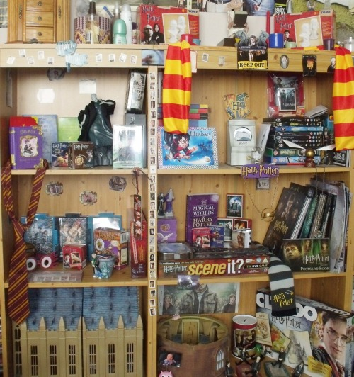 Just a selection of my harry potter collection. submission from iliveathogwarts