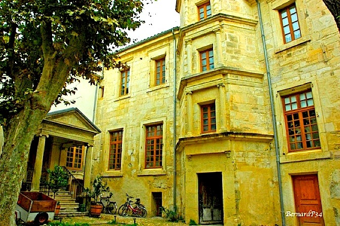 | ♕ |  Hôtel particulier - old mansion in Narbonne  | by © BernardP34
