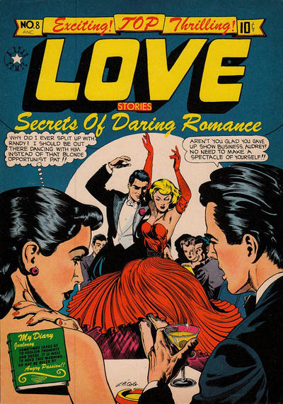 romancecomics:   Top Love Stories  #8