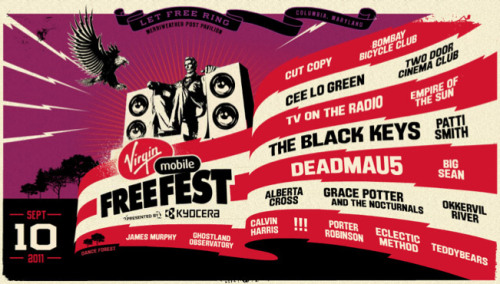 FreeFest A full-day event featuring a roster of amazing musical talent and drawing a huge crowd. The challenge was to find a concept that would entertain people… one that involves music but that does not replicate the experience they are getting elsewhere during the festival.