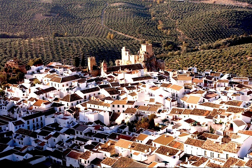 | ♕ |  Beautiful village Zuheros, Andalucia, Spain  | by © Henk Goossens