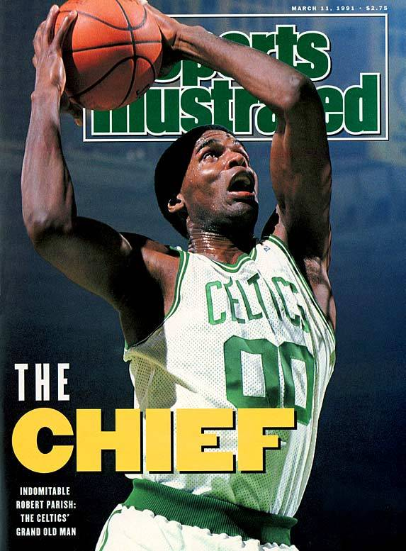 Happy 58th Birthday to 'The Chief', Robert Parish