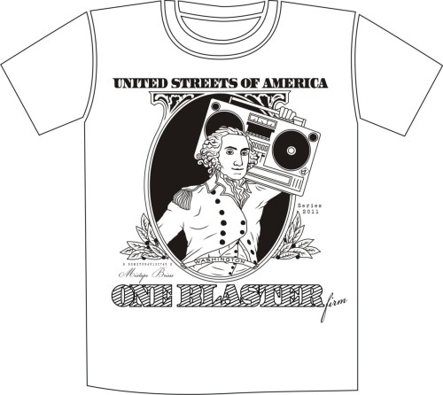 "TO ONE BLASTER T-SHIRT This T-shirt will be available soon in white/green colors and it'll be produced by the Italian brand ""BLASTER FIRM"" (http://www.blasterfirm.com/). Click the image to see a preview of the T-shirt"
