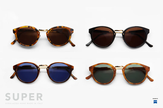 wherethefwereyou:    SUPER Panama Sunglasses for Autumn 2011